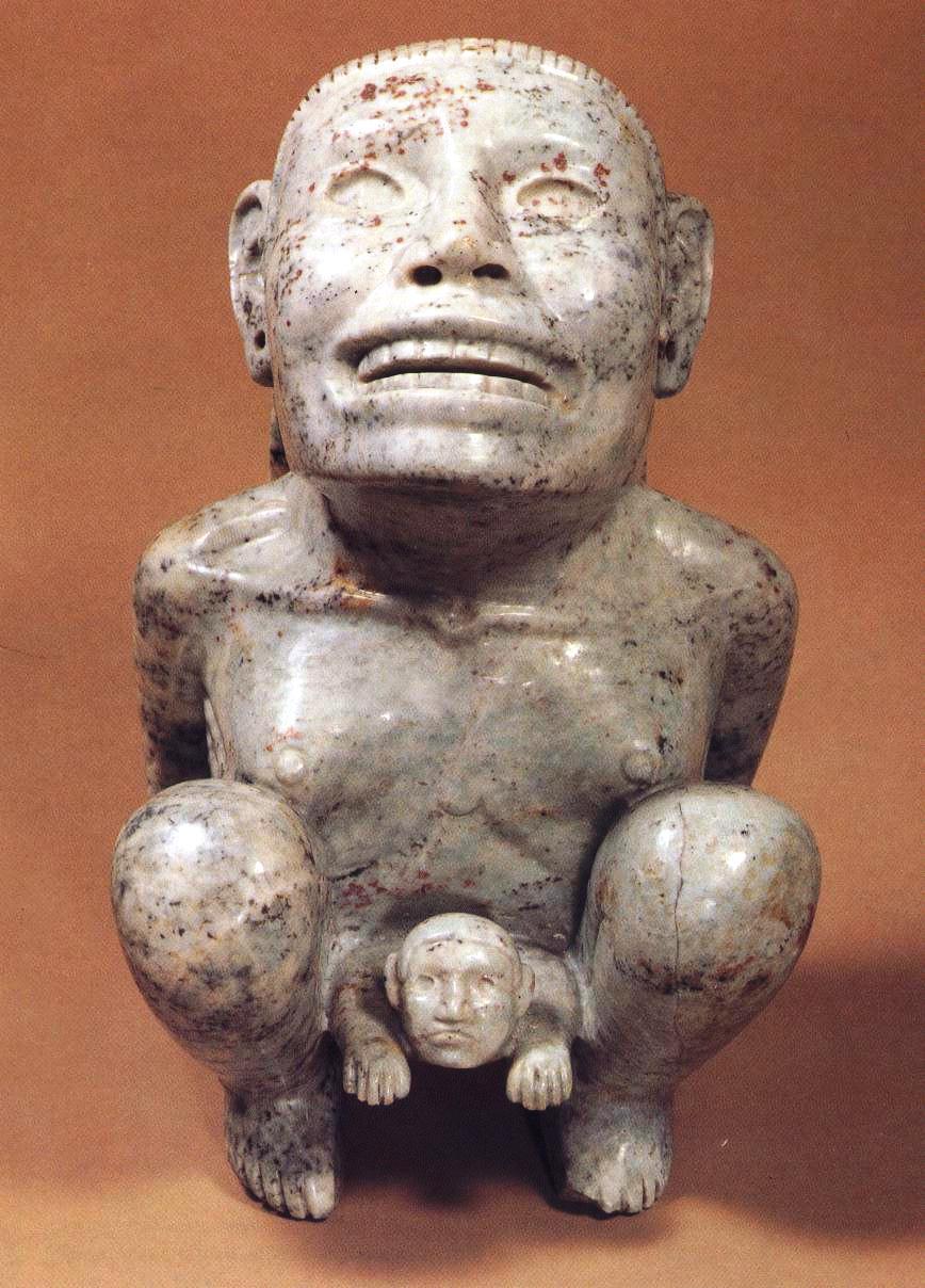 Tlazolteotl Azteken Geburt